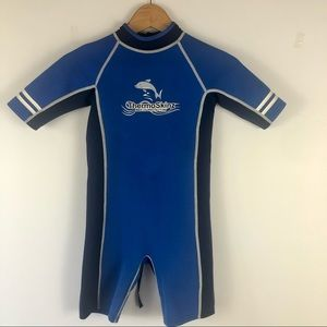 THERMOSKINZ SHORTIE WETSUIT UV PROTECTION SIZE 8